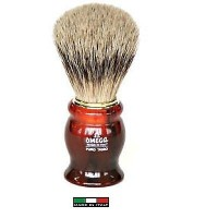 OMEGA 622 Pennello da barba in tasso Super