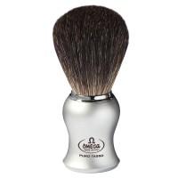 OMEGA 6229 Pennello da barba in tasso Nero