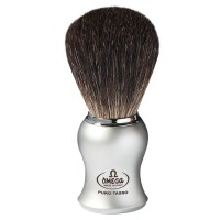 OMEGA 6229 Black Badger Shaving Brush