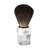 OMEGA 6188 Black Badger Shaving Brush