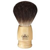 OMEGA 6239 Black Badger Shaving Brush