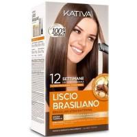 Kativa Keratin BRAZILIAN Smoothing KIT