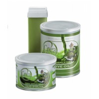 Fat-soluble wax with olive oil pot 400 ml