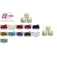 EC nails Gel Color Glitter 5 gr